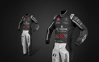 2017 Sauber Mercedes f1 Suits