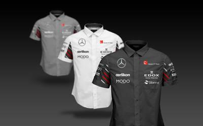 2017 Sauber Mercedes F1 Shirts