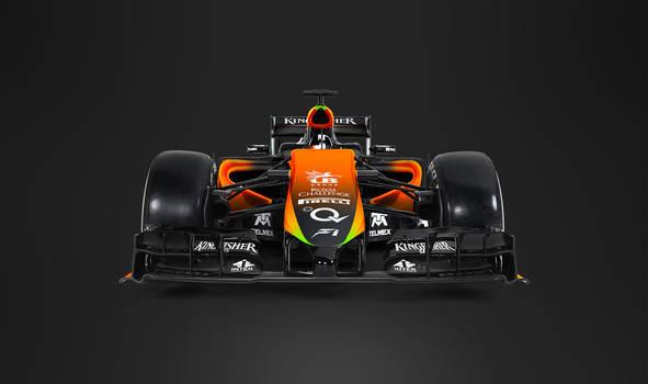 2017 Sahara Force India F1 Front