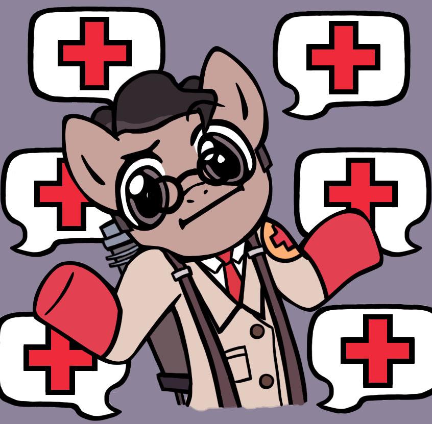 meet the ponies tf2 medic