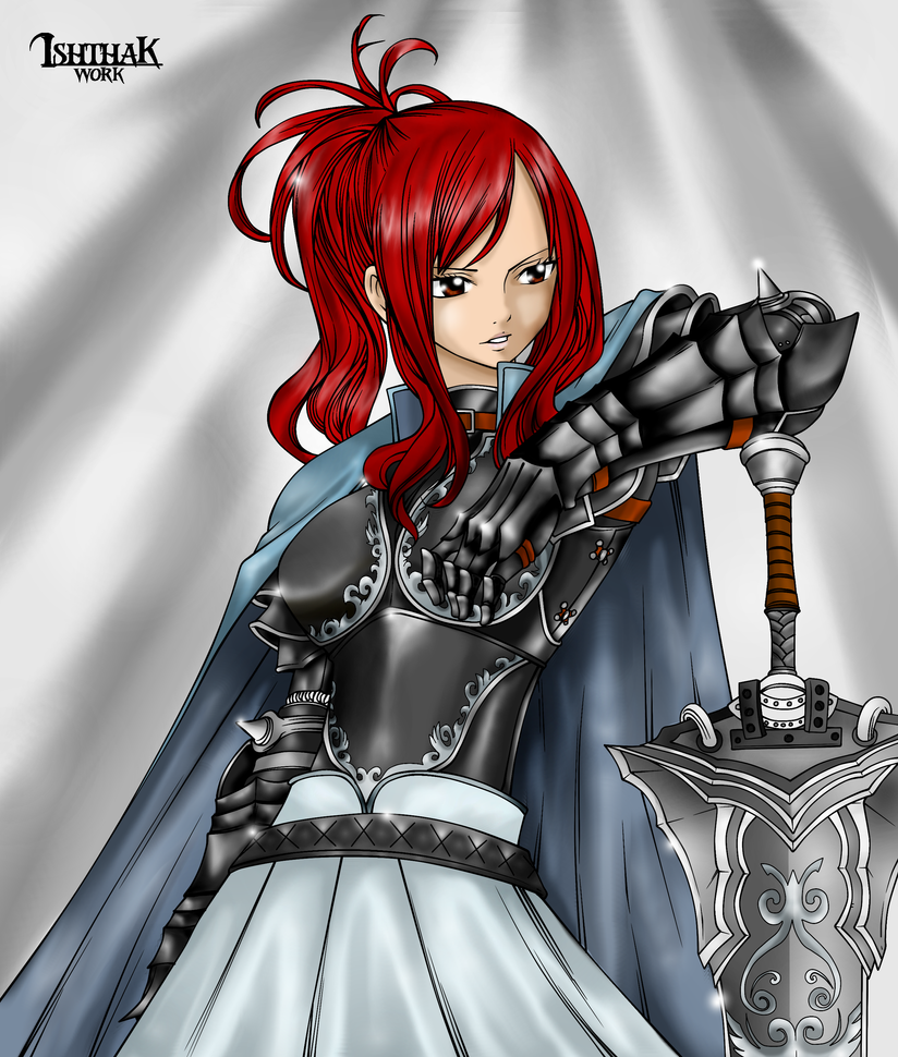 Erza Scarlet Wallpaper: Erza Scarlet The Knight By MarthaTheBarbarian On DeviantArt