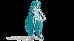 MMD - Fullfigure Miku Append