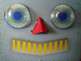 Robot Face by Renire-Stock