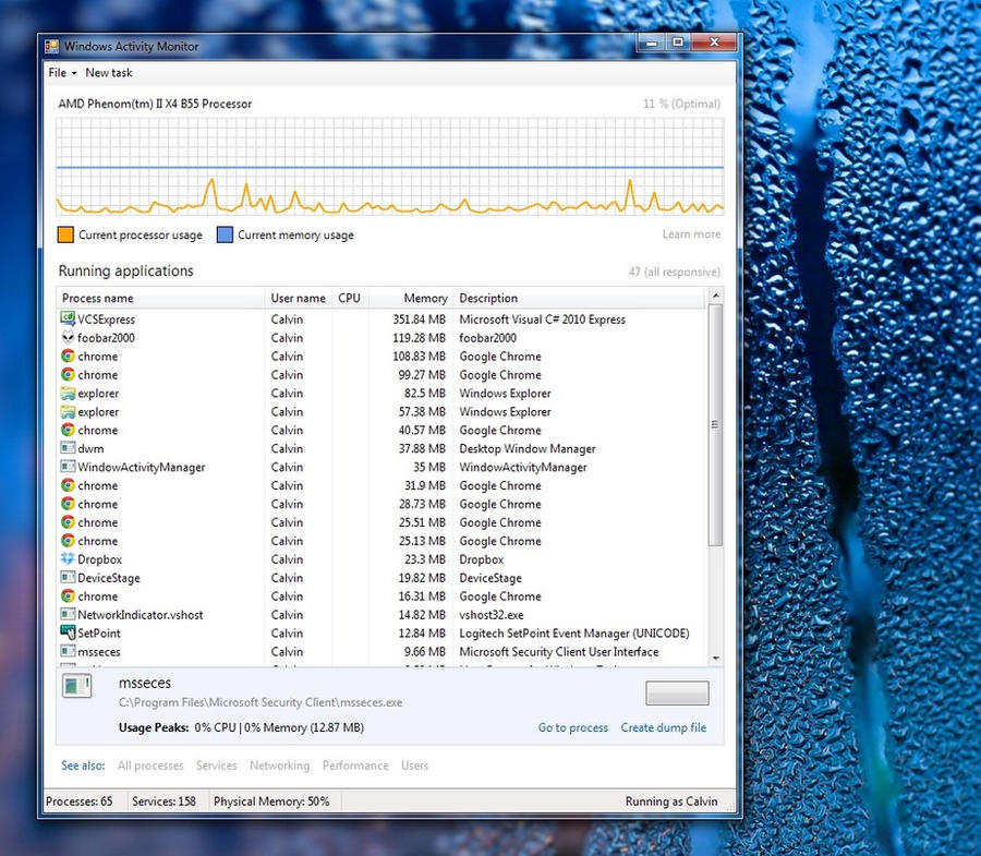 Windows Activity Monitor