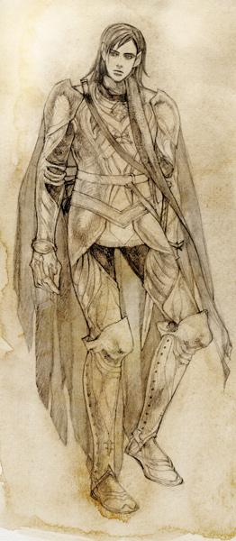 Curufin Sketch by daLomacchi