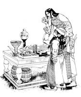 Celebrimbor and Narvi by daLomacchi