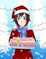 Christmas Ruby by Tsuki-yon