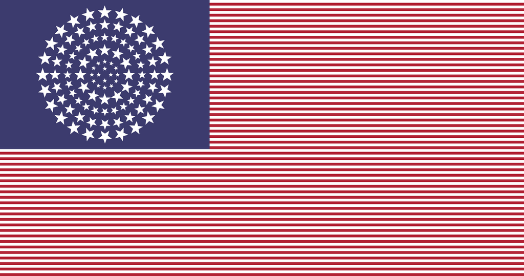 image of us flag with 50 stars