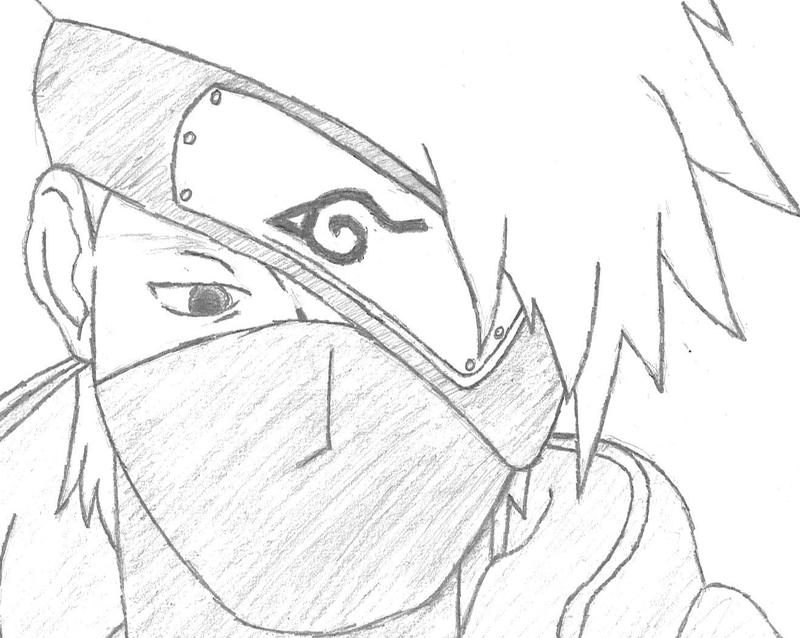 kakashi drawing by friend0rags