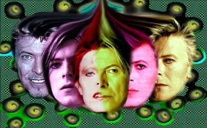 lol hanged Bowie fruit by 1ndajone5