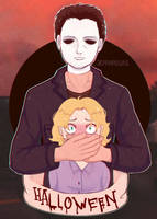 Michael Myers and Laurie Strode/ DbD [ fixed ]