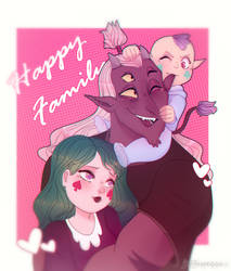 Happy Family [Globgor and Eclipsa ] by JeffaPegas
