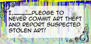 Anti-Art Theft Pledge