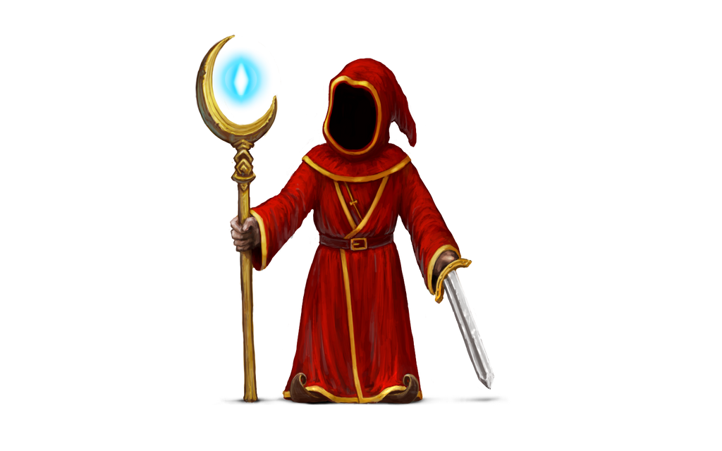 magicka red wizard render by quidek on deviantart