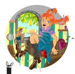 Pippi Longstocking - Breakfast