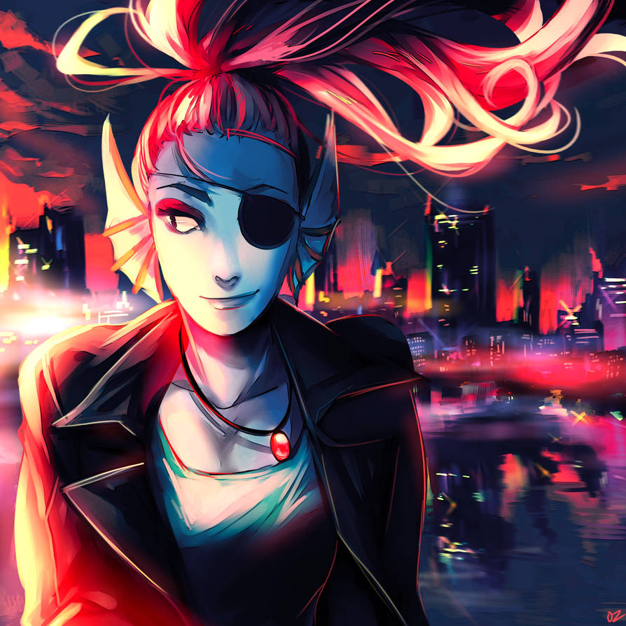 Undyne by Ozumii