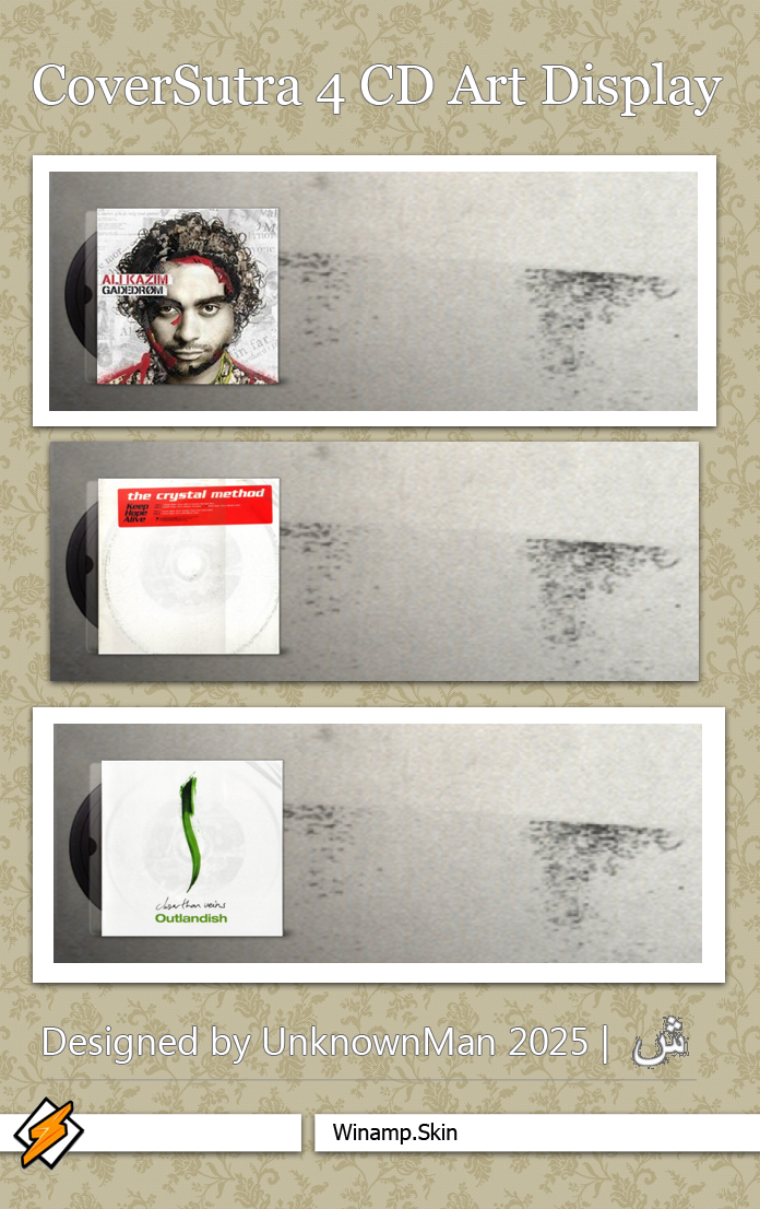 CoverSutra 4 CD Art Display by Psychiatry