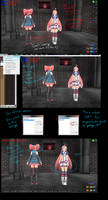 MMD Tutorial Transparent textures and stages