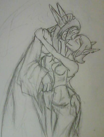 Elf Love by Sadie-Dkirin