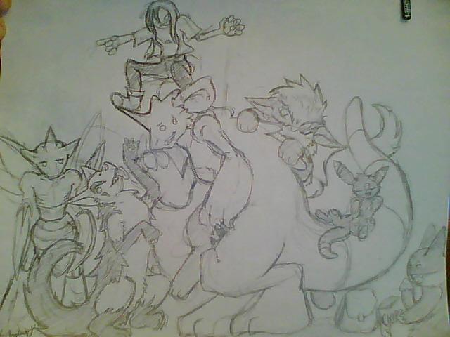 MY POKEYMANS by Sadie-Dkirin