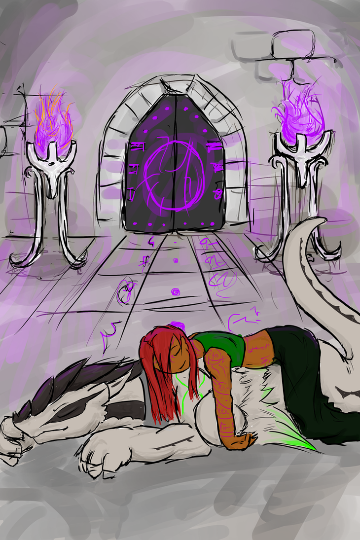 Nap in the Divine Holding Pen by Sadie-Dkirin