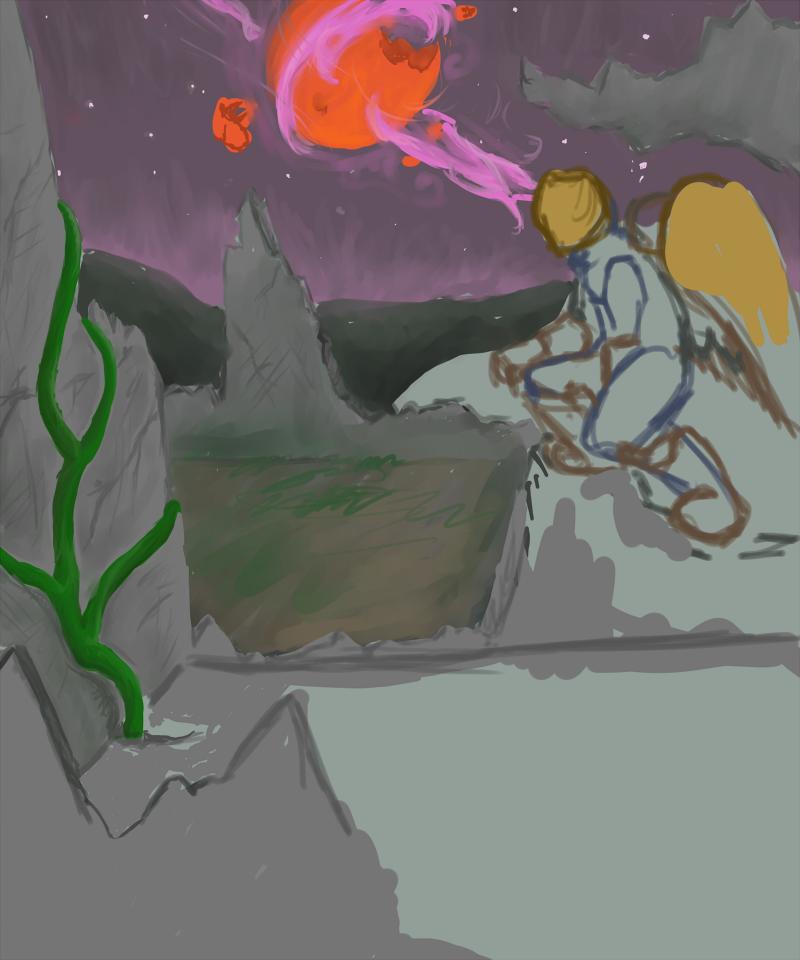 Stargazing -WIP- by Sadie-Dkirin