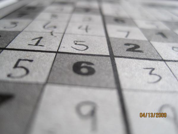 Sudoku by SilverDragon2050