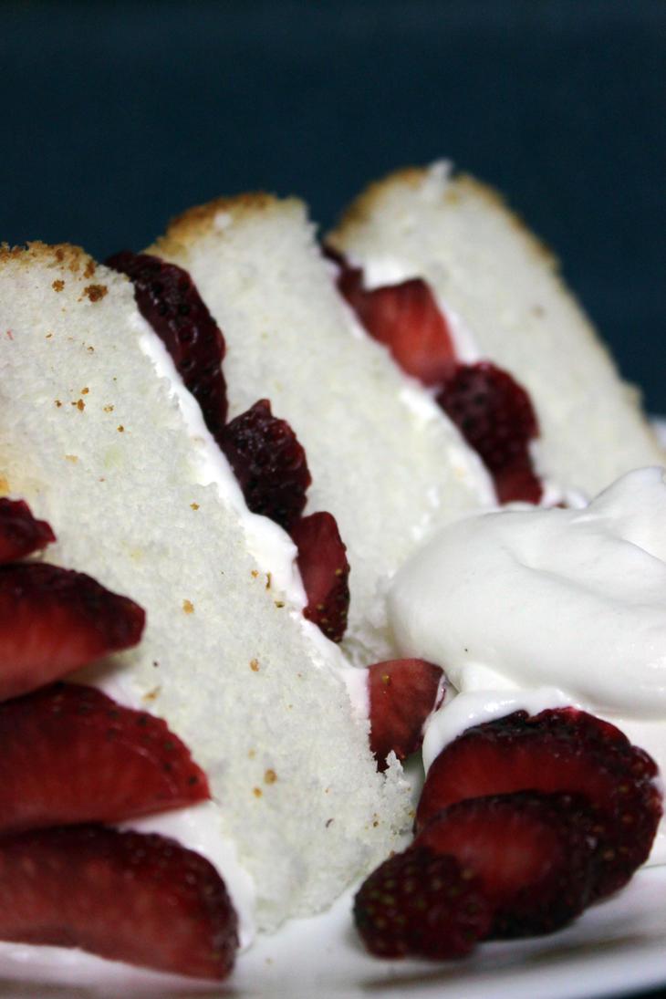 Angel Food Cake by SilverDragon2050