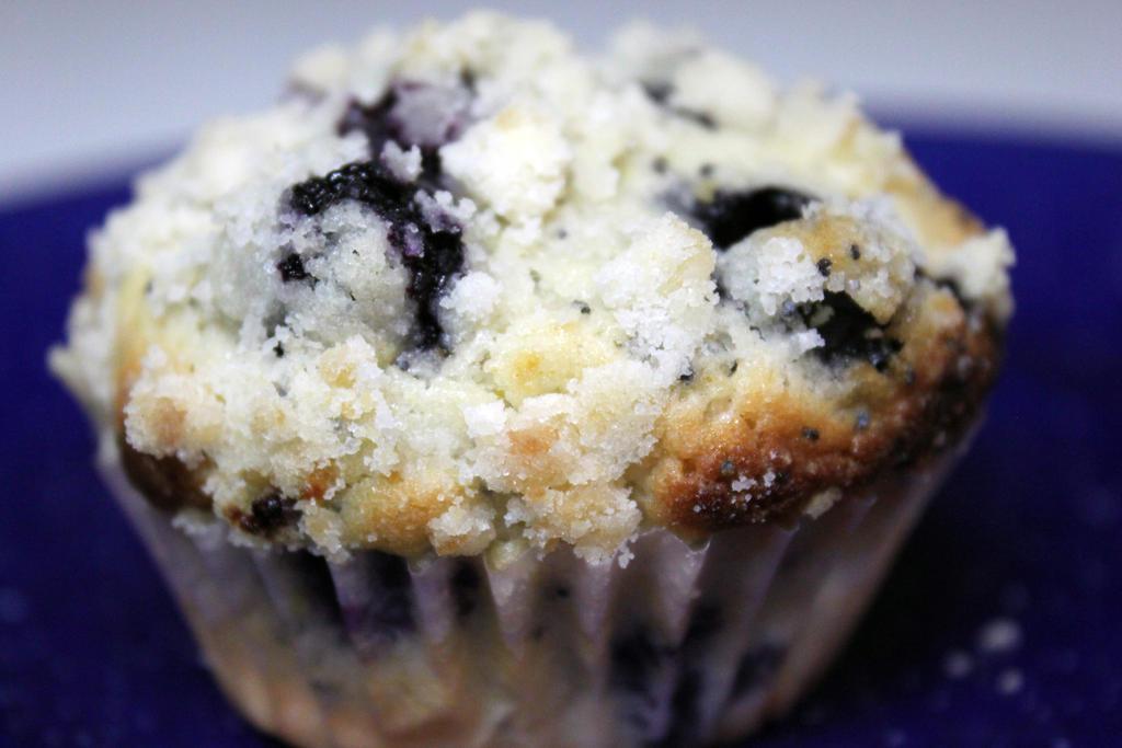 Lemon Poppy Seed Blueberry muffin 2 by SilverDragon2050 on ...