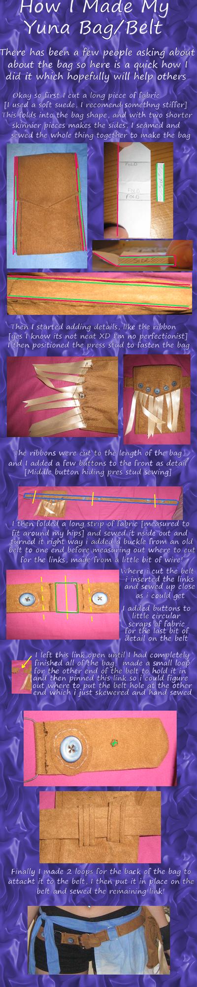 Yuna Cosplay Bag How To by TheGirlCalledJef