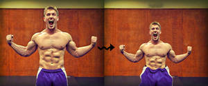 Shrinking Muscle Man