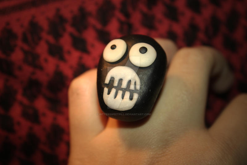 MIGHTY BOOSH ring by BitterSweetPill