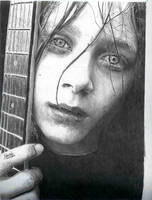 practice portrait by evzar