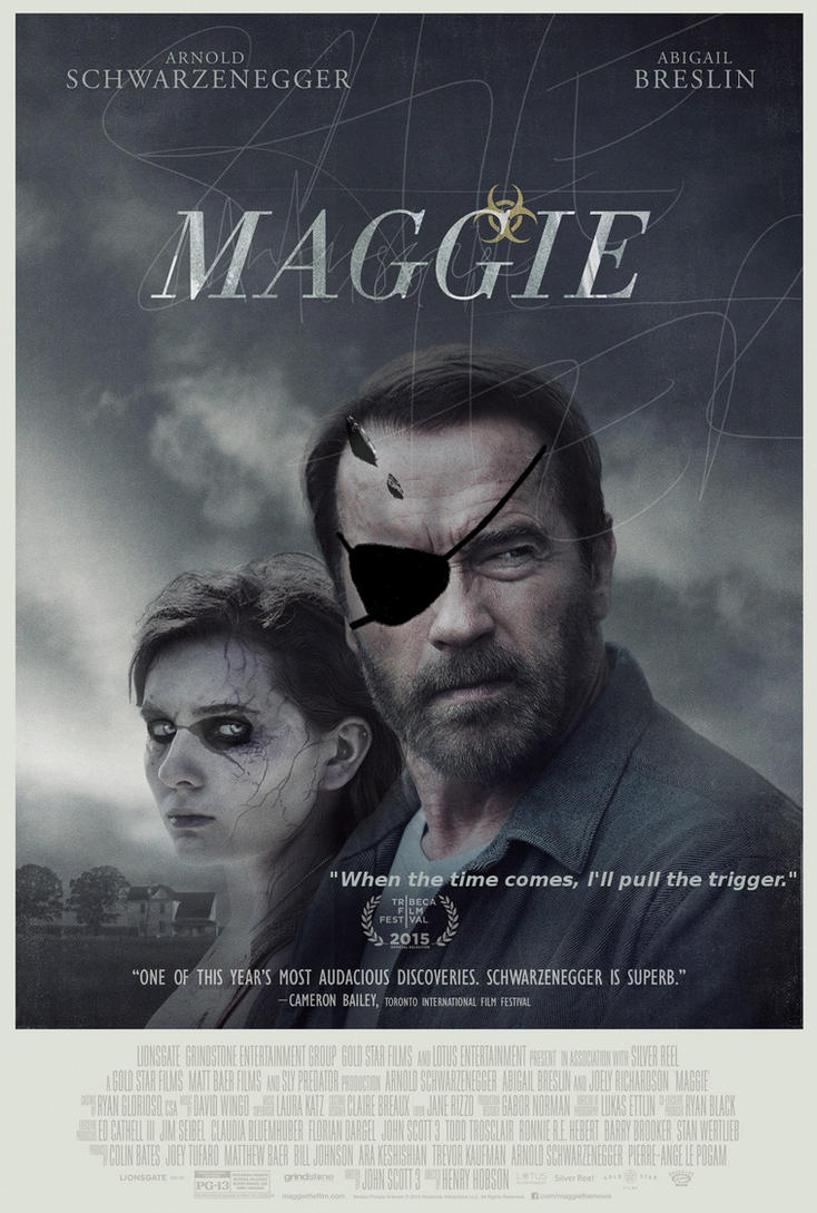 MGSV 'Maggie' Movie Poster Parody by 36429