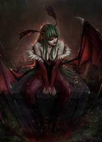 Morrigan by DarkTone408