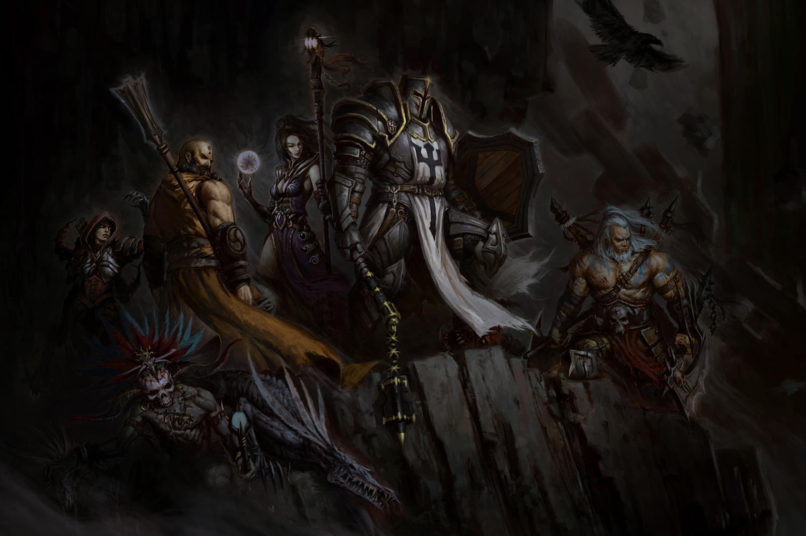 Face Death by DarkTone408