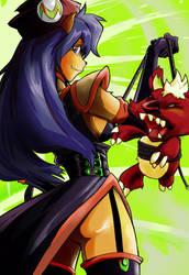 Iris Moderator character - DOFUS by studiobit