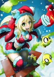 DOFUS Christmas Card by studiobit