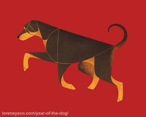 Year of the Dog - Dobermann