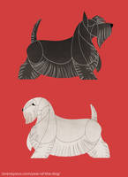 Year of the Dog - Scottish/Sealyham Terrier by Kelgrid
