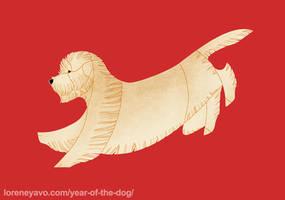 Year of the Dog - Irish Glen of Imaal Terrier by Kelgrid