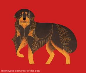 Year of the Dog - Hovawart