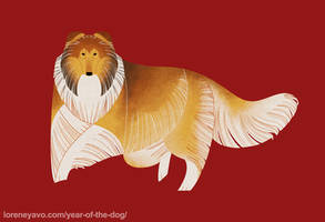 Year of the Dog - Rough Collie