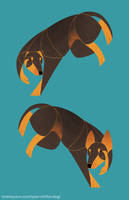 Year of the Dog - Manchester / English Toy Terrier by Kelgrid
