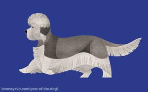 Year of the Dog - Dandie Dinmont Terrier by Kelgrid