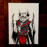 Knightober 15: The Blood Knight