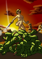 Meena - Warrior Bitch by deamondante