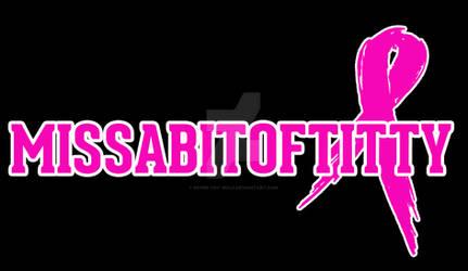 Canadian Cancer Society: Team Logo Missabitoftitty