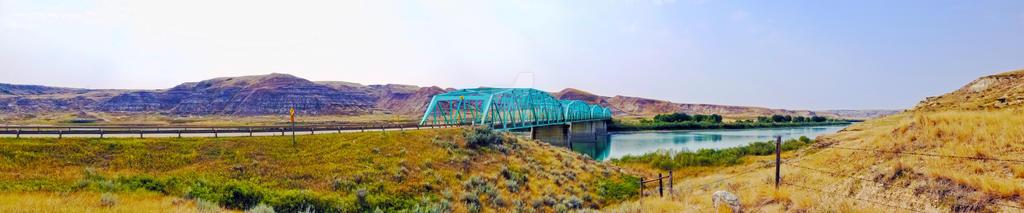 Blue Bridge: Panoramic
