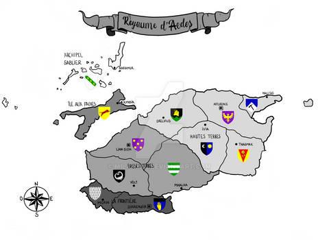 Les Provinces du Royaume d'Aedes